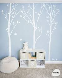 white tree wall decals white birch trees decal nursery wall decor tree wall mural stickers large approx 92 x 81 kc003 on white birch tree wall art with 17 best images about foto wall on pinterest trees studios and birches
