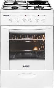 Купить газо-электрическая <b>плита REEX CGE</b>-<b>531</b> ecWh, цены в ...