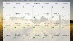 November 2019 Daily Bible Reading Calendar In Gods Image