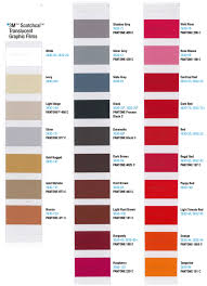3m Scotchcal Vinyl Color Chart 3m Translucent Color Chart Sign Anatomy