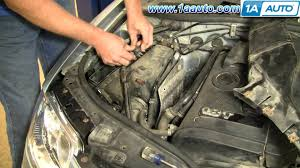 how to install replace engine air filter volkswagen passat  how to install replace engine air filter volkswagen passat 02 05 1aauto com