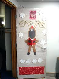 fun christmas ideas office. Fancy Door Decorating Ideas For Christmas In A Contest Desk Decoration Office Fun