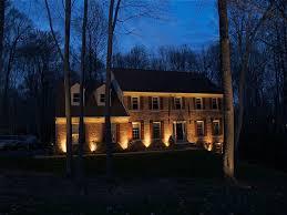 image of nice low voltage led landscape lighting