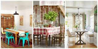 Kitchen And Dining Designs 82 Best Dining Room Decorating Ideas Country Dining Room Decor