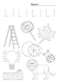ESL Letter of the Week - L - THE TYPE TREE DESIGNS