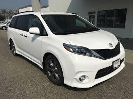 New 2017 Toyota Sienna 4 Door Mini-Van Passenger in Kelowna, BC ...