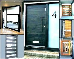 front doors with sidelights modern modern exterior doors door hardware home designs ideas and beautiful