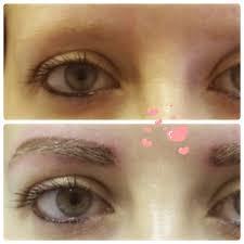 brows semi permanent makeup