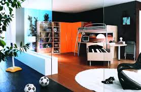 Gorgeous Image Teen Boy Bedroom Ideas Soccer Mural Decoration Wall
