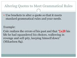 Mla Brackets When To Use Brackets In Mla Format Mla Style Citing What