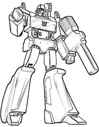Small Picture Megatron Transformers Coloring Page Coloring Pages Pinterest
