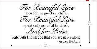 Audrey Hepburn Beauty Tips Quote Best of Audrey Hepburn Quotes For Beautiful Eyes