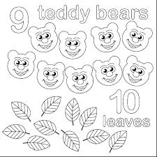 Number Coloring Pages 1 10 Numbers Coloring Sheets Number Pages