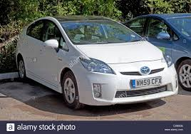 Toyota Prius electric hybrid car version 3 with PV roof UK Stock ...