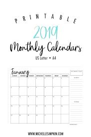 Calendar Template Monthly Blank Madv Info