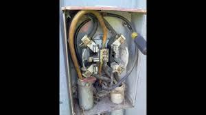 electric meter repairs underground farm service improper meter socket replacement parts at Bad Electric Meter Wiring