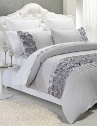 palazzo silver palazzo silver quilt cover set