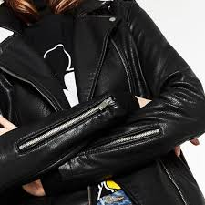 zara vegan leather jacket