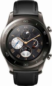 huawei watch 2 classic. huawei - watch 2 classic smartwatch 45mm stainless steel titanium gray front_zoom