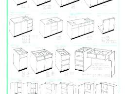 Standard Kitchen Base Cabinet Sizes Chart Kitchen Cabinet Sizes Sink Base Width Specs Upper Corner