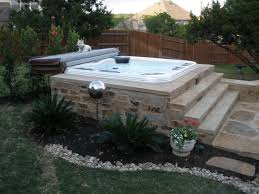 Hot Tub Backyard Ideas Plans Interesting Inspiration Design