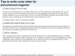Procurement Cover Letter Resume Procurement Specialist Procurement ...