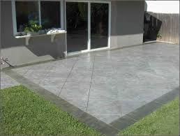 best solutions of patio ideas painting concrete to look like