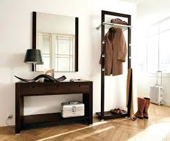 Hallway Furniture Coat Rack Mesmerizing Hallway Furniture Ideas Creative Hallway Furniture Mirror Coat Rack