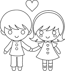 Small Picture Boy Girl Coloring Coloring Coloring Pages