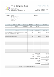 Invoice Template Word 2007 Free Download Invoice Template Excel 24 Free Invoice Template 5