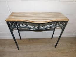 metal hall table. Metal Hall Table