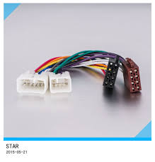 high quality replacemaent suitable for toyota auto 20 pin high quality replacemaent suitable for toyota auto 20 pin connector radio iso wire harness