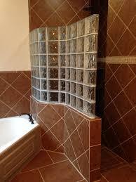 glass block shower houston 6