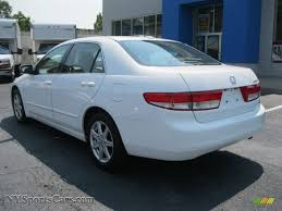 2004 Honda Accord EX V6 Sedan in Taffeta White photo #3 - 044883 ...