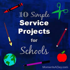 10 Easy Service Projects For Schools Caring Classrooms Service