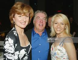 Actor Bruce McGill , wife Gloria and Arianna Huffington pose at ...