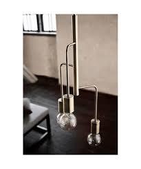 Cool Chandelier Antique Matte Brass Frandsen