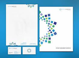 Design Folder Cover Stationary Brochure Design For Medical Sales On Behance