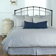 magnificent navy and white striped comforter classic bedroom with king size grey ticking stripe comforter set