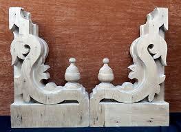 antique wooden corbels designs
