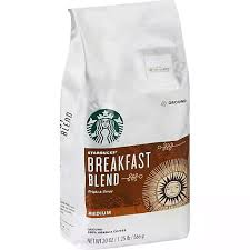 A shade lighter than most of our offerings—more toasty than roasty—it was the result of playing with roast and taste profile together for a flavour that appealed to a wider range of palates. Starbucks Coffee Ground Medium Breakfast Blend Shop Rastelli Market Fresh