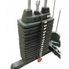 <b>Весовой стек</b> 68 кг Body-Solid SP150 для Многофункционального ...