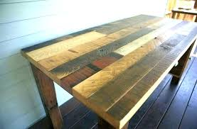reclaimed wood office. Reclaimed Wooden Desk Wood Writing Office Furniture .