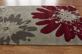 grey red area rugs