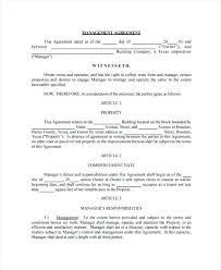 Property Management Agreement Template South Africa Parsyssante