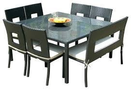 dining tables 8 chairs 8 dining room chairs outdoor wicker resin 8 piece square dining table