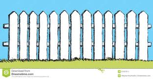 Wood Fence Drawing Drawn Wooden Fence Vector Wood Drawing Nongzico
