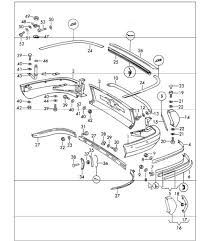 buy porsche engine compartment seals design  bumper rear 911 upto 1968