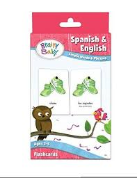 Discover learning games, guided lessons, and other interactive activities for children. Spanish English Flash Cards Brainy Baby Preschool Learning The Brainy Store
