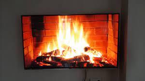 Televizyonda Şömine Görüntüsü Nasıl Verilir !! - YouTube